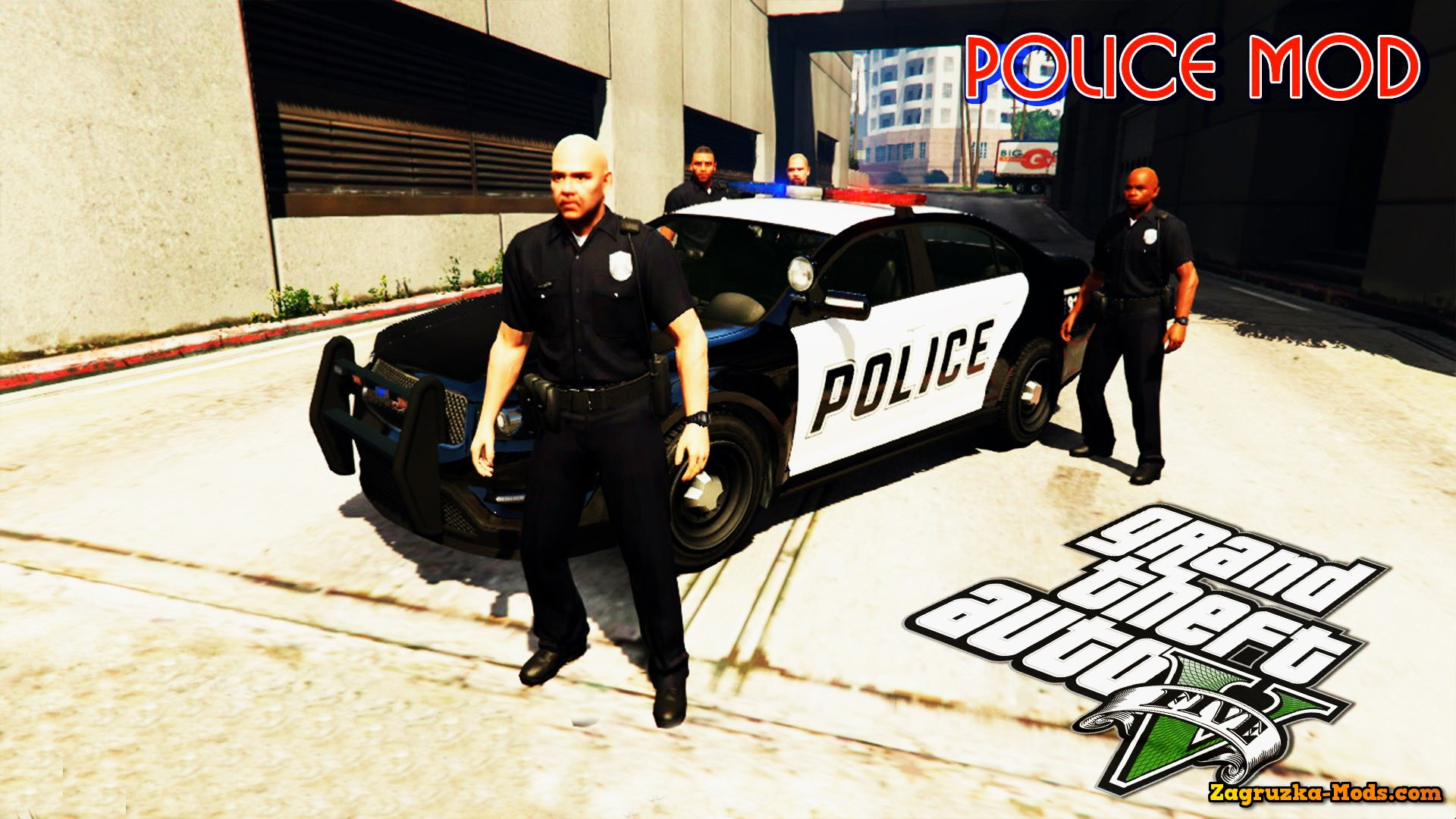 police v a how to gta download mod